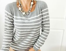 ESPRIT DESIGNER COTTON STRIPED KNIT TOP SZ XXL