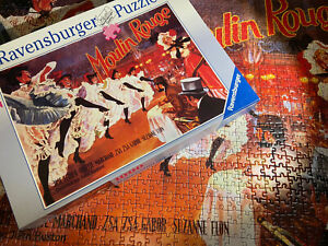 Ravensburger 15383 Moulin Rouge Broadway Musical Film Jigsaw Puzzle - 1000