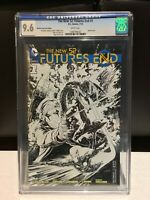 New 52 Futures End #1 - CGC 9.6 (NM) - Diamond Retailer Incentive Sketch Cover