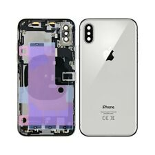 Back Cover Shell Rear Case Chassis Iphone Xs Silver White 100% Quality'