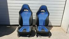 Satz STI Sitze blau Sportsitze front Seats Subaru Impreza GC8 GDA GDB 93-05