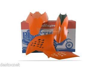 Kit plastiques Polisport  Couleur Origine Pour KTM Exc/Exc-f 125 &+