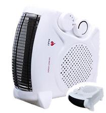 NURI 2kW 2000W Portable Electric Fan Floor Heater Hot & Cold