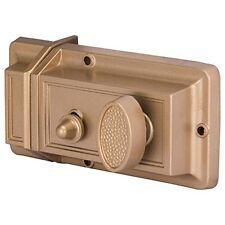ProSource 6296453-ps Rim Night Latch 2 Keys Keyed Different 5 Brass