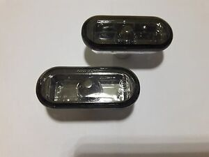 FORD FIESTA 2002-2008,FOCUS 2004-2008,FUSION Side marker Light PAIR CLEAR SMOKE