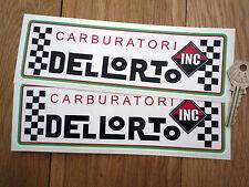 DELLORTO inkl. Motorrad Cityroller Auto sticker Ducati WSB