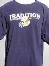 NOTRE DAME FOOTBALL 2006 Tradition T-SHIRT-L-Holtz-Rockne-THE SHIRT-FREE SHIP