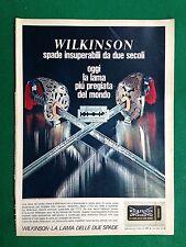 PV44 Pubblicità Advertising Werbung Clipping (1968) 38x28  WILKINSON LAMA BARBA