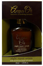 Argan Oil with Moroccan Argan Oil Extract Night Repair Serum 30ml For Face