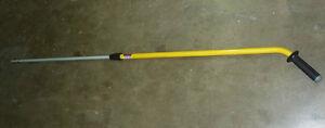 New! Rubbermaid - Quik Connect Ergo Adjustable Mop Handle - Q76000
