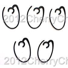 5pcs Ear Loop Hook Earhook Earloop For Nokia BH208 BH213 BH219 BH303 BH606 Black