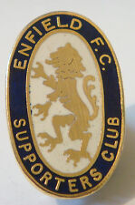 ENFIELD vintage Supporters Club badge Maker T.N prêtre Co brooch pin 20 mm x 32 mm