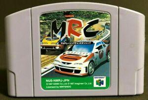 MRC: Multi-Racing Championship (Nintendo 64) GAME MRC NUS-NMRJ-JPN NUS-006