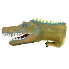 "10"" (25cm) Dinosaur Hand Puppet Realistic Museum Details Jurassic Play Toy"