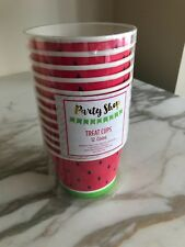 Watermelon Treat Cups 12 Pack Party Decoration
