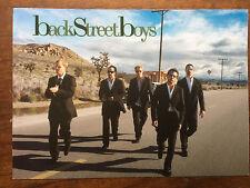 the Backstreet Boys ad/flyer for Nevergone cd 2005
