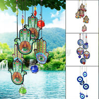 Tree of Life Wind Chime Metal Hanging Ornament Garden Patio Outdoor Home Decor