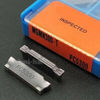 Cutting Sword S123 32-3 2 X Sandvik Grooving Inserts R123G2-0300-1001-CS 1125