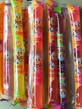 Famous TIKTOK Challenge 10 Jelly Strips Straws Sticks FREE SHIP Tik Tok Candy