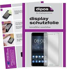 2x Nokia 6 protectoras TRANSPARENTES para protector de pantalla Lámina dipos protector de pantalla