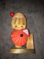 japanese Kokeshi doll Hand painted