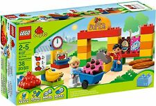 Lego Duplo 6137 My First Supermarket shop fruit n veg grocery stall market