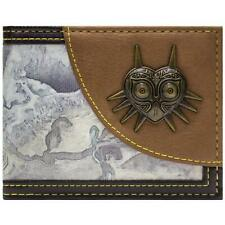 STUNNING Legend of Zelda Majora`s Mask 3d Bi-fold Wallet