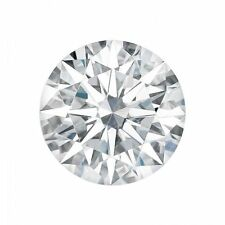 0.75CT Hearts and Arrow Moissanite Loose Round Stone Charles and Colvard 6MM