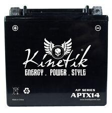 Kinetik 12V 12AH Battery Replaces Kawasaki KVF650 KSV700 KVF750 Brute Force