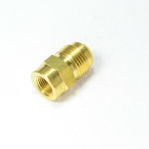 3/8 Male Flare Sae 45 Mfl to 1/8 Npt Female Pipe Adapter Propane Natural Gas RV