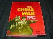 SPI 1979 : The CHINA WAR game - Sino-Soviet Conflict in the 1980s (PUN) rare box