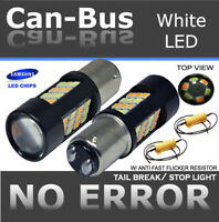 Samsung Canbus 1157 42LED Switchback White Yellow For Front Turn Signal Bulb H8