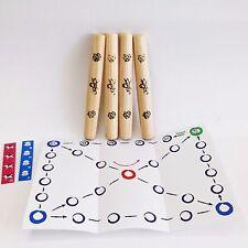 Korean Traditional Board Game Yut Nori Fun Family Game Yoot Game Yutnori Set