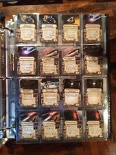 20 x Star Wars: X-wing Miniatures Upgrade Card Mini Card 16 Pocket Display Pages