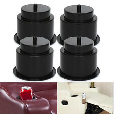 4X Universal Plastic Boat Black Cup Holder Drink Can Holder Boat Marine RV Great