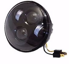 "Pathfinder LED 5.75"" Headlamp For Harley Davidson and 5 3/4"" Head Light Buckets"