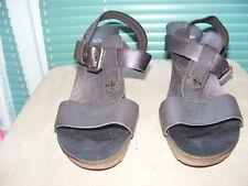 CLARKS Gr. 7,5 = 41 - 41,5 Sandaletten NEU Pumps braun