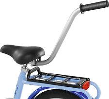 Fahrradlernhilfe Puky 9989 Schiebestange Schiebehilfe Stange Silber Lernhilfe