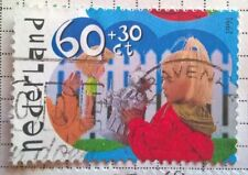 Netherlands stamps - Children Playing with Doll & Robot     60 + 30 cents 1991