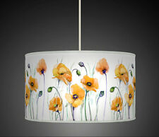 30cm Mustard Yellow Poppy Flower Handmade lampshade pendant 614 Light Shade