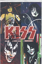 KISS #1 - GENE SIMMONS AND PAUL STANLEY SIGNED VARIANT - 1:50 - RARE - SEALED