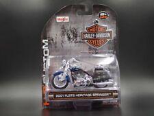 Motocicletas de automodelismo y aeromodelismo azules de escala 1:24