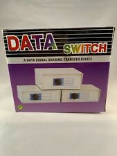 Data Transfer Ab Switch Manual Db25 Connections New In Box