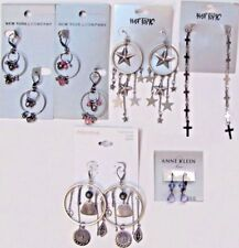 NWT $70 Wholesale Lot Dangle Earrings Fashion Jewelry NEW YORK & CO HOT TOPIC