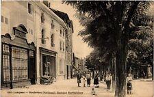 CPA  Langeac - Boulevard National -Banque Barthélémy  (517952)