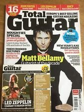 Total Guitar magazine & CD Volume 197, January 2010