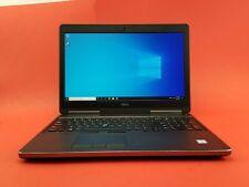 Dell Precision 7510  15.6  W10P •256GB SSD +500GB   •i7-6820HQ•15.6 inches 32GB