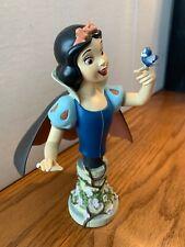 Grand Jester Snow White Enesco Bust Disney Princess Seven Dwarves broken finger