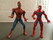 2 x Spiderman figures - 1995 and 2002 - VGC