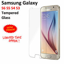 Tempered Glass Screen Protector Scratch Resist For Samsung Galaxy S6 S5 S4 S3